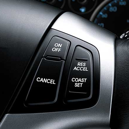 Cruise Control Buttons - i30 '07 +