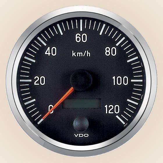 int l silver speedometer 120 kph 100mm aisat instruments