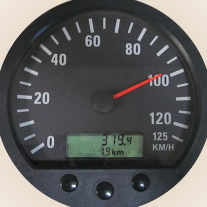 Truck Speedometer 125 KPH 140mm